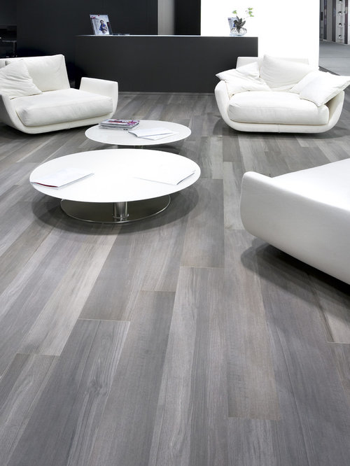 SaveEmail. Cercan Tile - Grey Wood Tile Floor Houzz