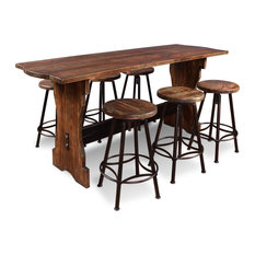 Sunset Trading 7 Piece Cabo Counter Height Pub Table Set HH-8014-7PC