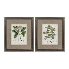 East Indian Plants, Set of 2