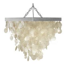 kouboo capiz seashell rain drop pendant lamp chandeliers capiz lighting fixtures