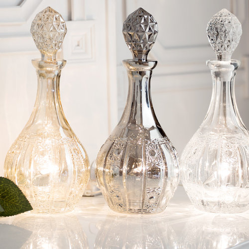 Decorative Glass Decanter Table Lamps From Litecraft   Table Lamps