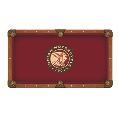 7' Indian Motorcycle Pool Table Cloth by Covers by HBS