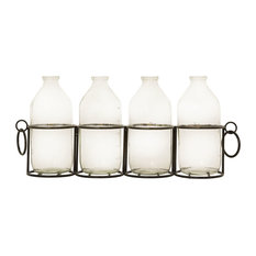 Pomeroy Bassett Centerpiece In Black And Clear 639845