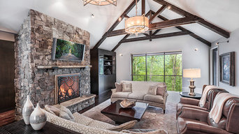 Transitional Mountain Home