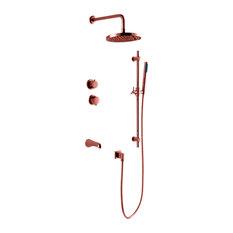 Royce Shower Set, Copper