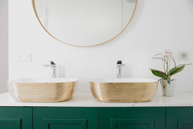 Transitional Bathroom by KAST DESIGN