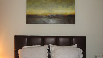 Client Artwork Installation - Sharon Gordon Artwork