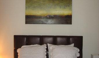 Client Artwork Installation - Sharon Gordon Artwork