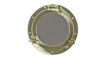 "115"" Brass Porthole Mirror"