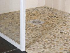Salle de bain tout casser ou garder les carrelages - Remplacer bac de douche ...