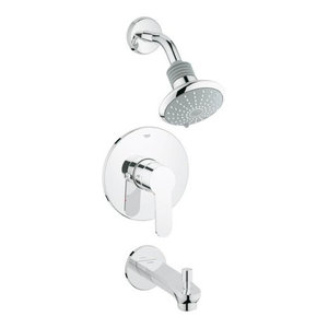 Grohe 35025002 Starlight Chrome Eurostyle Tub and Shower Trim Kit