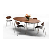 Table Zen ovale allongeable