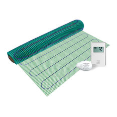Floor Heating Kit 120V Easy Mat, Non Programmable Thermostat, 3'x10'