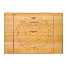 Catskill Craftsmen Reversible Perfect Pastry Cutting Board, Birch