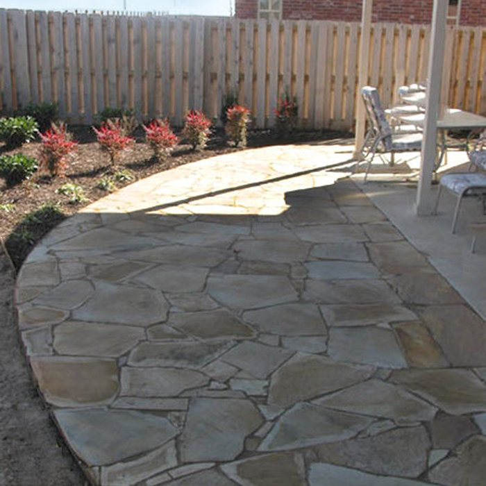 Flagstone Patio and Sidewalk