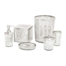 Paradigm Trends - Ice 6-Piece Bathroom Accessory Set - Bathroom Accessory Sets