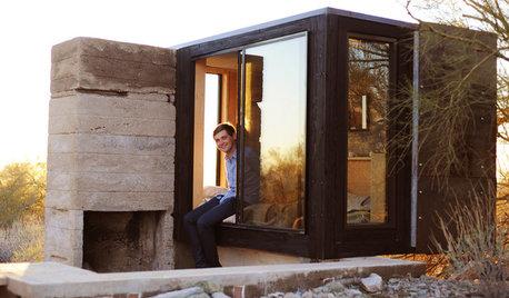 Houzz США: Мини-дача размером с кровать