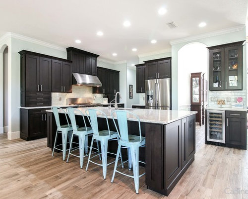 Brushed Black Glaze On Shaker Maple Charcoal Cabinets | Cabinets.com