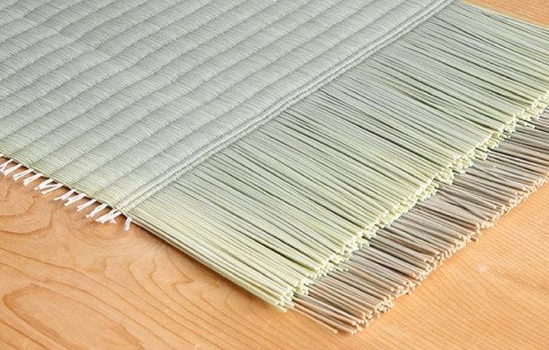和室・和風 和室の床(畳・竹) by ㈲高森畳工店
