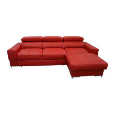 Bazalt 1 Sectional Sofa Red Color, Right Corner   Sectional Sofas