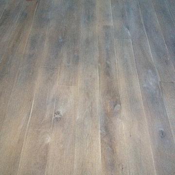 Fumed Rustic White Oak | Grey Wood Floor