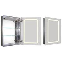 Recessed Single Door Cabinet, 29.5x5.5