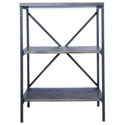 Industrial Bookcases by HomeRoots