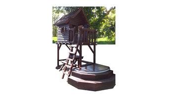 Freestanding Treehouse