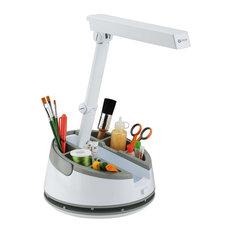 OttLite Craft Caddy Lamp, White