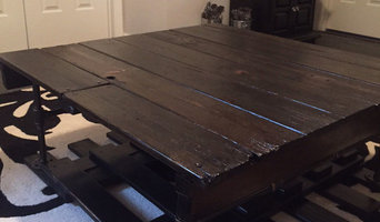 Swing Set Salvage Coffee Table
