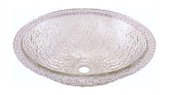 Undermount/Drop-In Combination Sink, Crystal Pebble