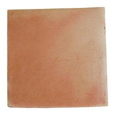 "12""x12"" Regular Sealed Saltillo Terra Cotta Floor Tile, Set of 325"