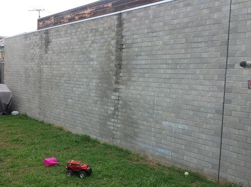 Diy Ideas For Ugly Backyard Brick Wall, Patio Brick Wall Ideas