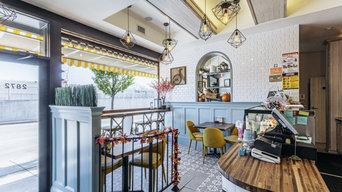 Cafe in Brooklyn