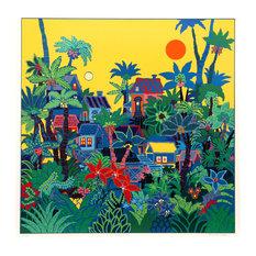 """Jungle Sunrise"" Artwork"
