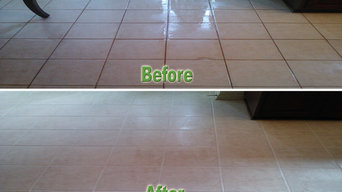 Tile Floor Clean and Seal