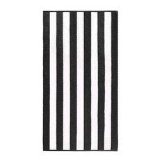 Anatalya Classic Resort Beach Towel 1, Black, 1-Piece Set