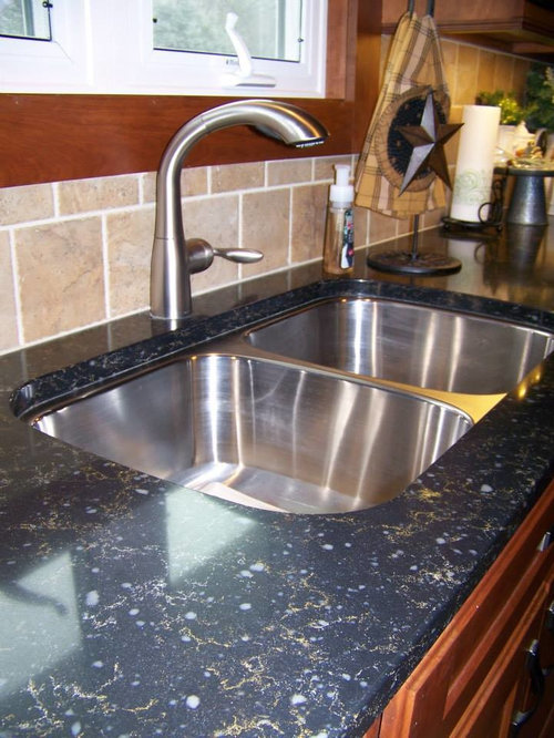 Silestone doradus design ideas remodel pictures houzz for Silestone sink reviews
