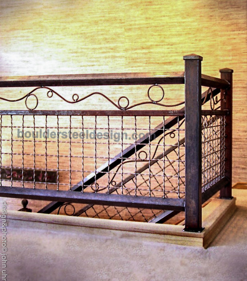 Details-from custom stair rails to toilet tissue holders