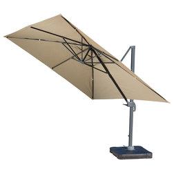 Transitional Outdoor Umbrellas by GDFStudio