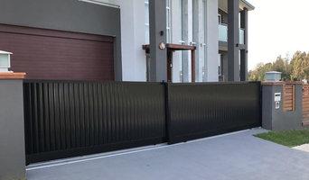 Automatic gates , Aluminium slats Lourve , framed timber , fence panels