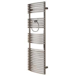 Zehnder Sfera Towel Radiator, Chrome, 85x60 Cm
