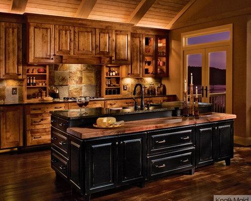 Kraftmaid Rustic Kitchens