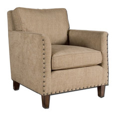 Uttermost - Keturah Chenille Armchair - Armchairs and Accent Chairs