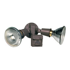 Heathco Bronze Motion Sensing Security Light Fixture