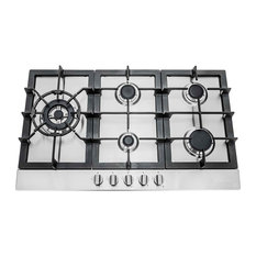 """Cosmo 30"""" Pro Style Gas Cooktop With 5 Burners"""