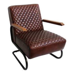 Quilted Metro Arm Chair  Design Mix Furniture