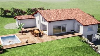 Construction maison individuelle à Ahetze