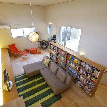 いろはの家(名古屋市)2階リビング