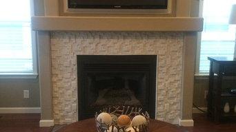 Northern Kentucky fireplace surround